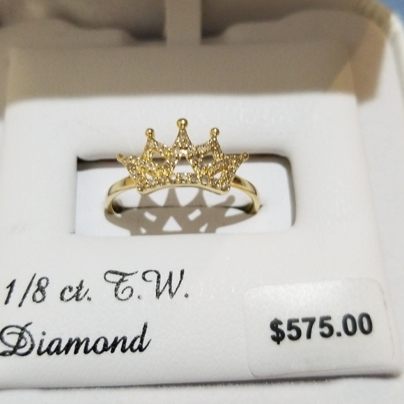 52001507bf7 Diamond Crown Ring. Listing Price   180.00